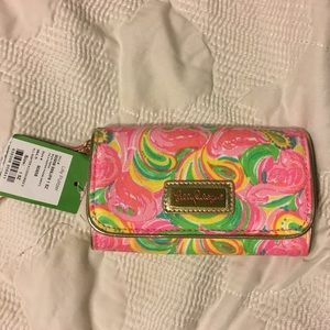 Floral Lilly Pulitzer wristlet